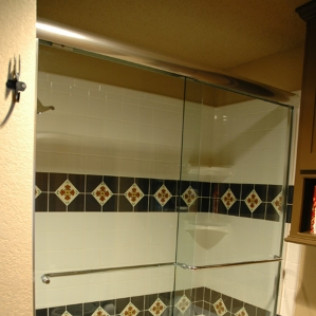 glass shower door installation lubbock tx